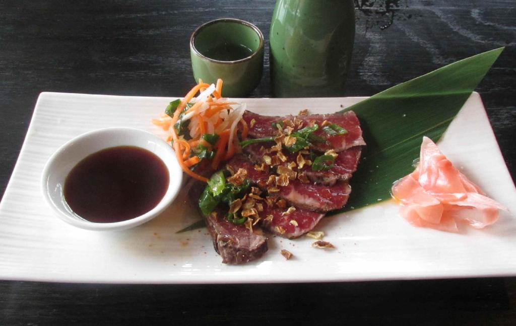 Beef Tataki at Izakaya