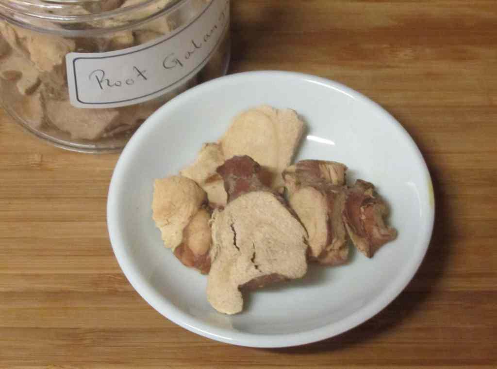 Dried Galanga a.k.a. Galingale