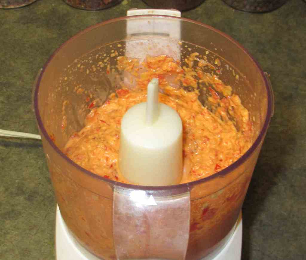 Blending a Galingale Curry Paste