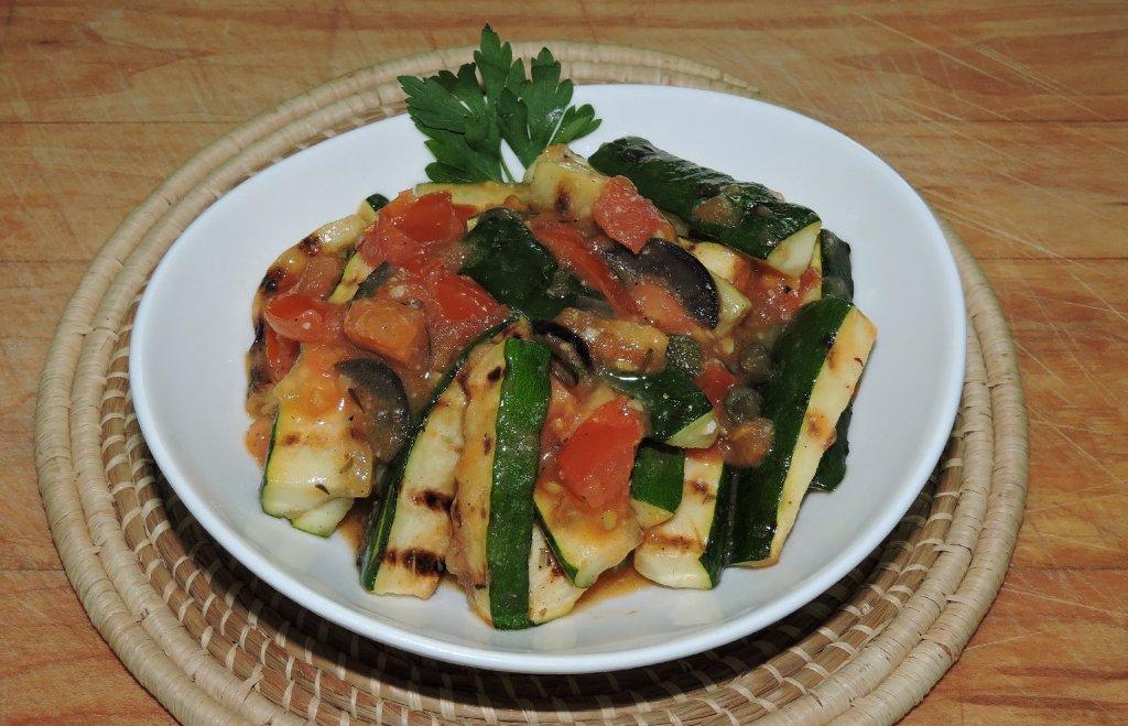 Zucchini Siciliano Recipe