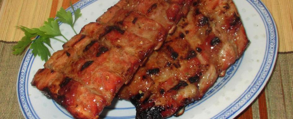 Barbecued Pineapple Ginger Ribs