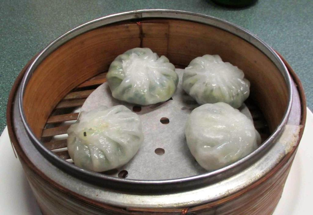 Chive Dumplings at the Yang Sheng Restaurant in Ottawa