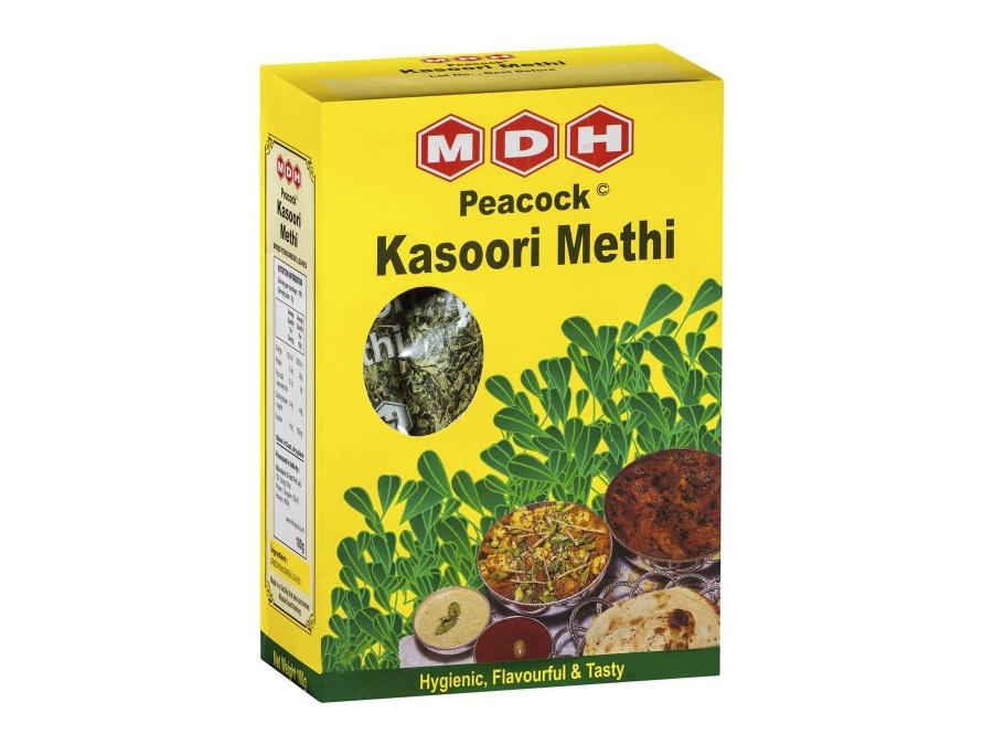 Commercially packaged Kasoori Methi