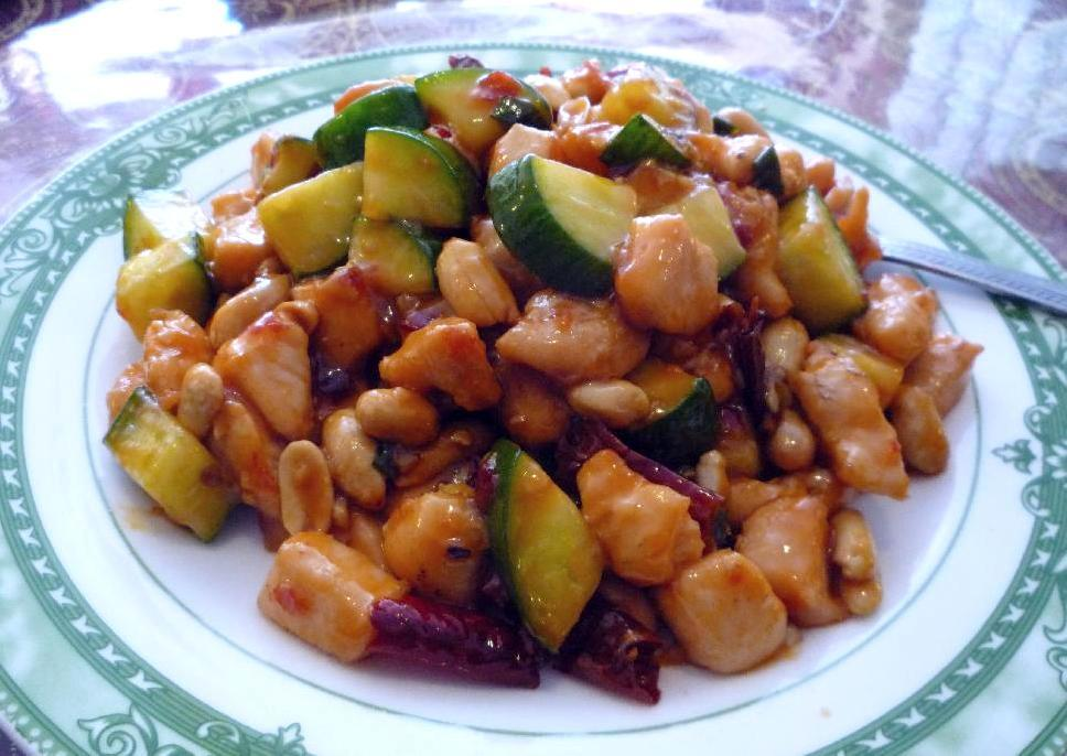 Kung Pao Chicken at the Juxiangyuan Restaurant in Ottawa