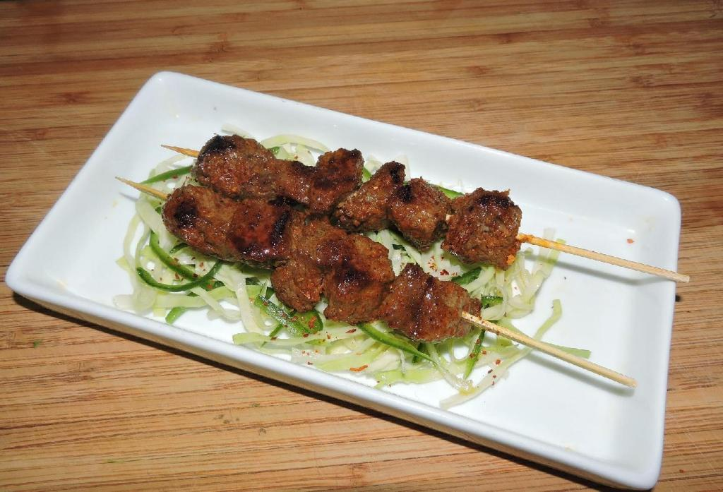 Madrasi Grilled Beef Skewers