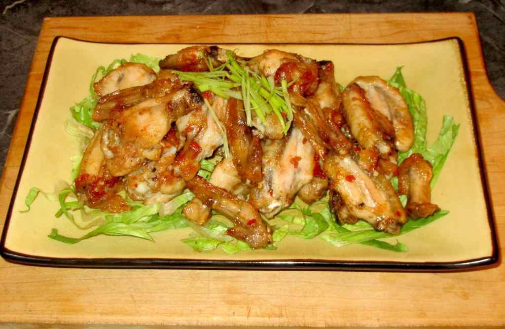 Sambal Belcan with Chicken Wings