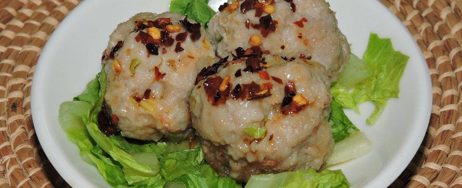 Shrimp and Pork Balls