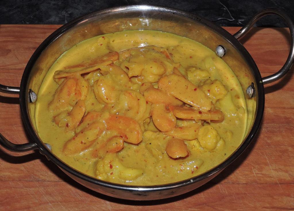 Shrimp and Vegetable Korma