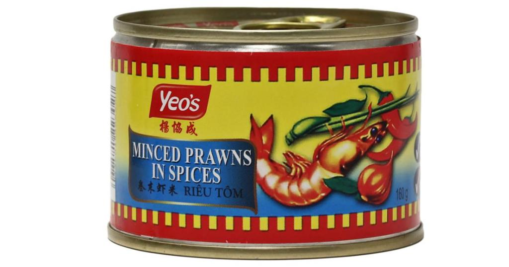 Yeo Brand Minced Prawns with Spices