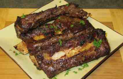 Oven 'Barbecued' Beef Ribs
