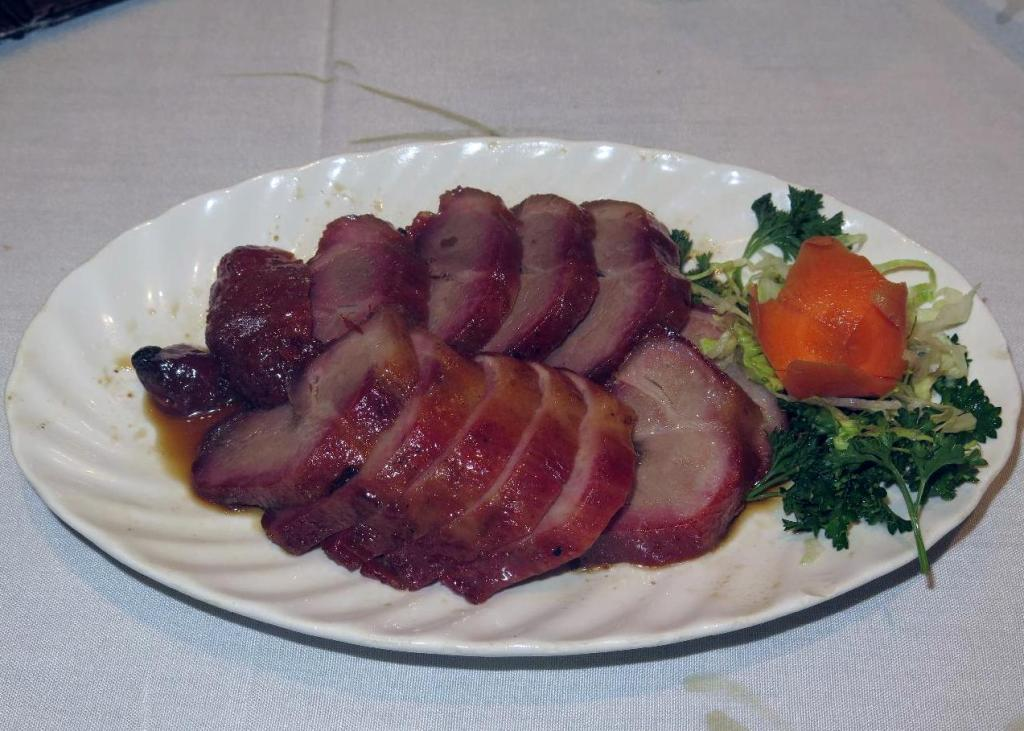 BBQ Pork at the Floata Seafood Restaurant in Vancouver