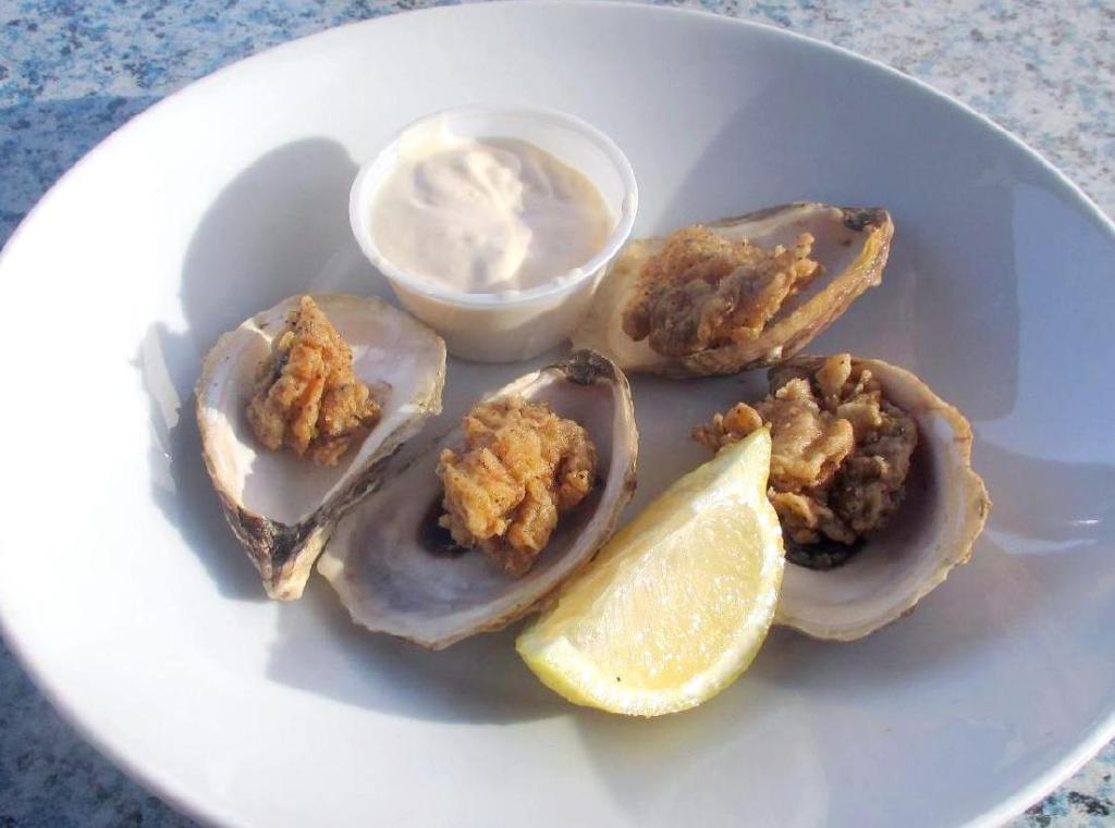 The Deep-fried Oysters at Salty's in Halifax