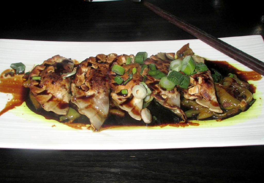 Gyoza at the Izakaya Restaurant in Ottawa