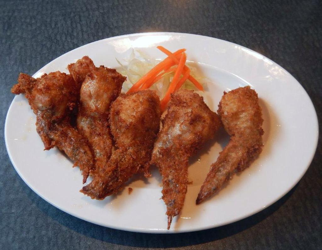 Shrimp Stuffed Wings at the Taste of Saigon in Yellowknife