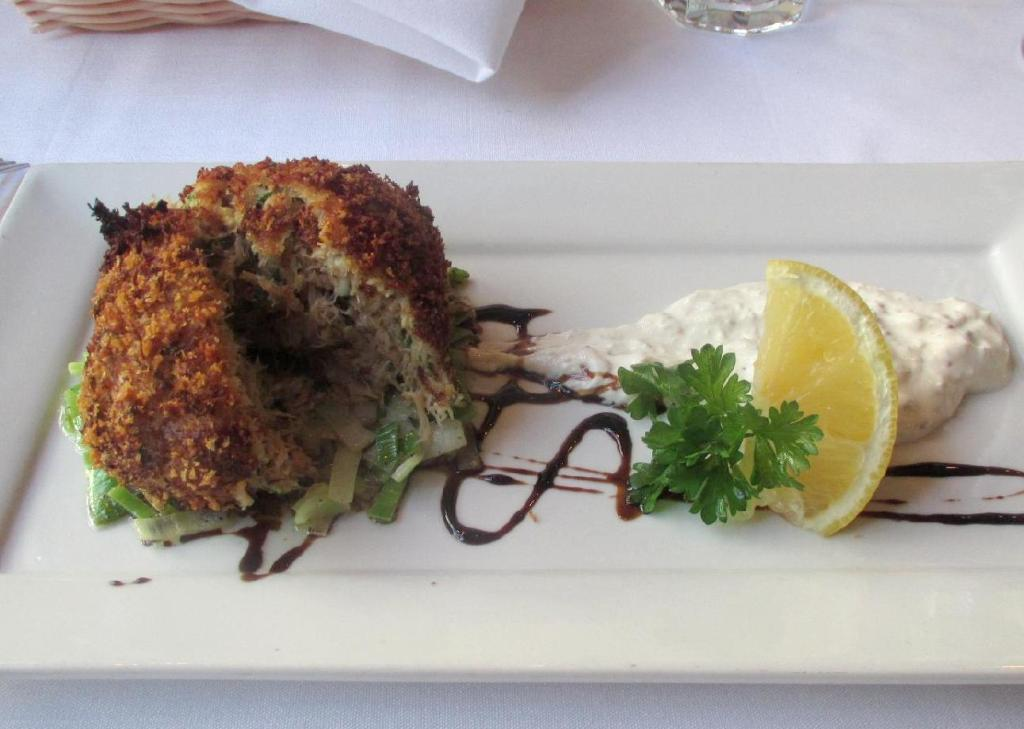 Crab Cake at the Oyster Shack
