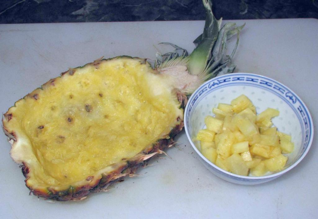 Half a Pineapple Shell