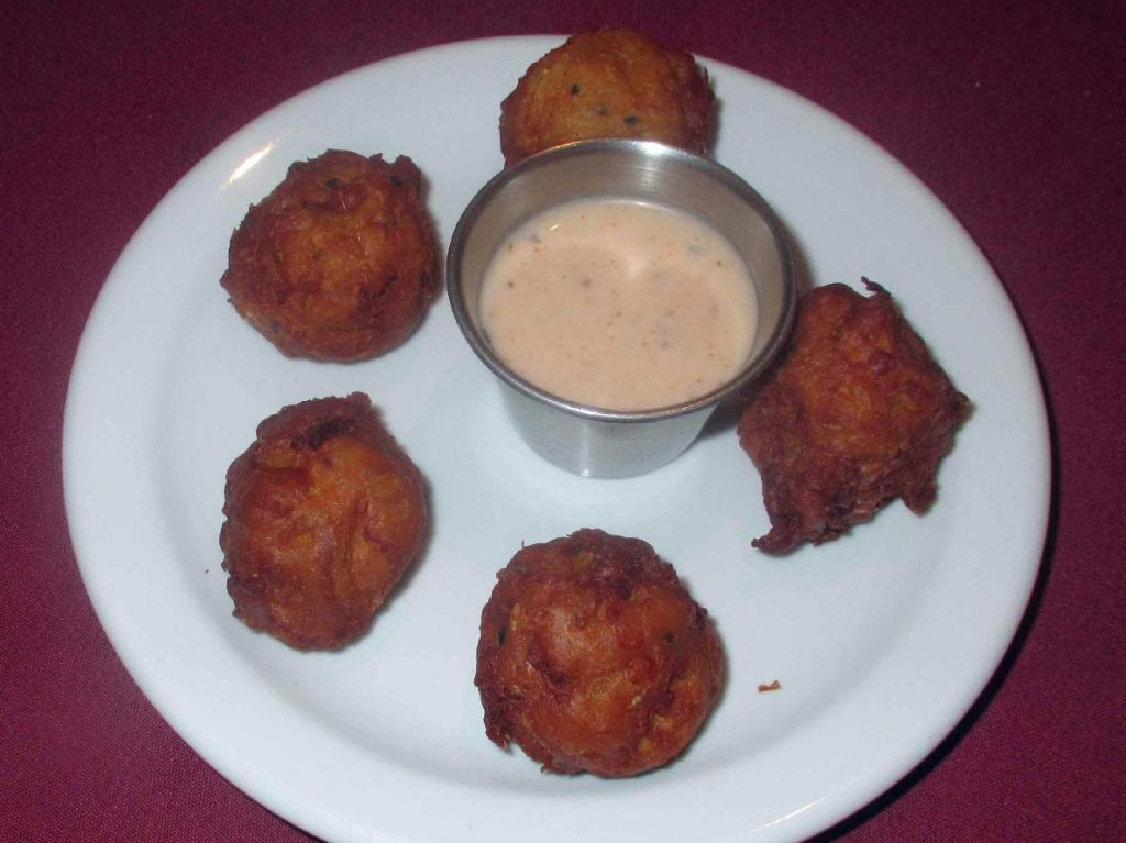 Onion Bhaji at Mukut in Ottawa