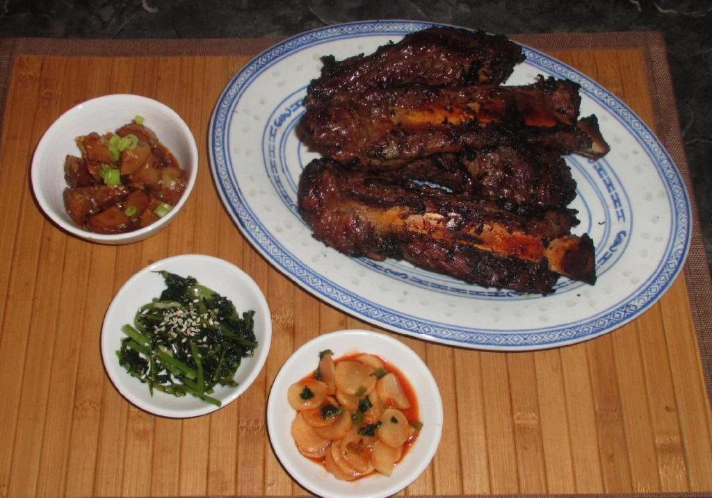 Pineapple Barbecued Beef Ribs