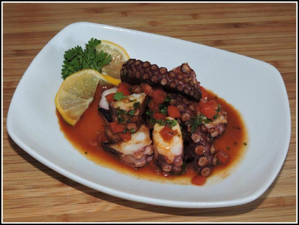 Mediterranean Octopus Tapas