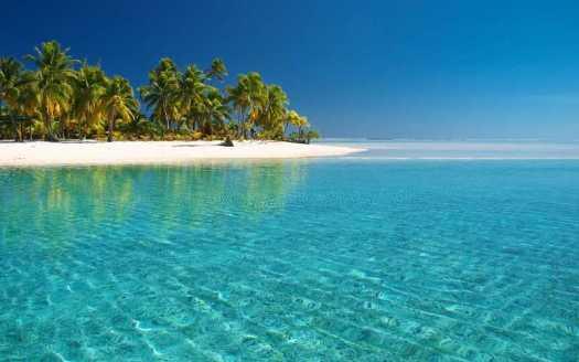 Bacalar lagoon at day