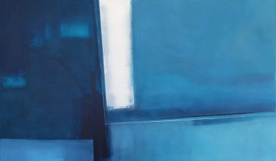 "Andrew Stelmack Thoughts As Deep As The Ocean 36"" x 60"" Acrylic on Canvas SOLD"