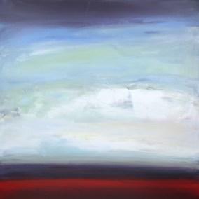 Peter Colbert Sky High 48 x 48 Acrylic on Canvas