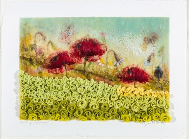 Tanya Kirouac The Things I Remember 24 x 19 Encaustic on Water Colour Paper (Framed under glass) SOLD