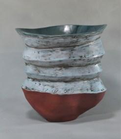 """Wave"" Stoneware SOLD"