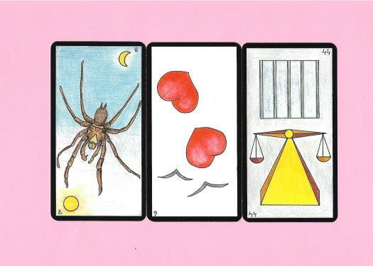 3 cartes de l'oracle Gé