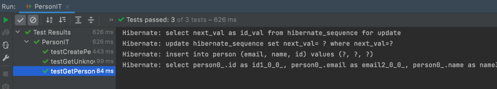 intellij unit test results with testcontainers 1024x185 - TESTCONTAINERS
