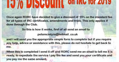 IRC Discount