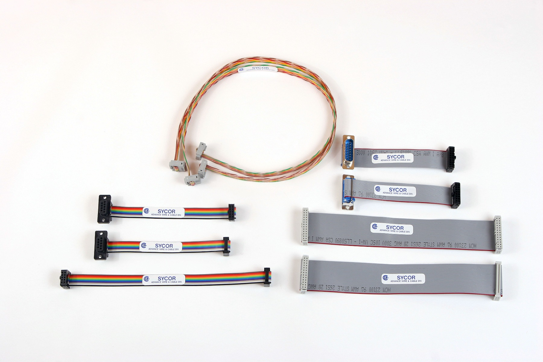 hight resolution of ribbon and flat cable assembly wire harness