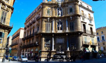 Quattro Canti w Palermo