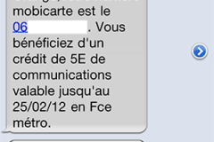 Prepaid mobile with 3G data in France