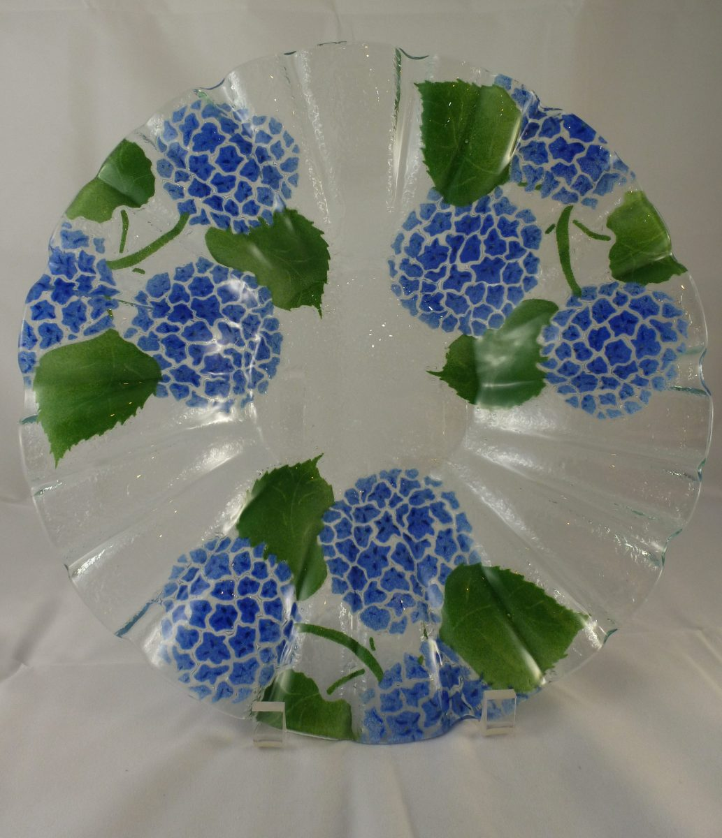 Hydrangea Fruit Bowl