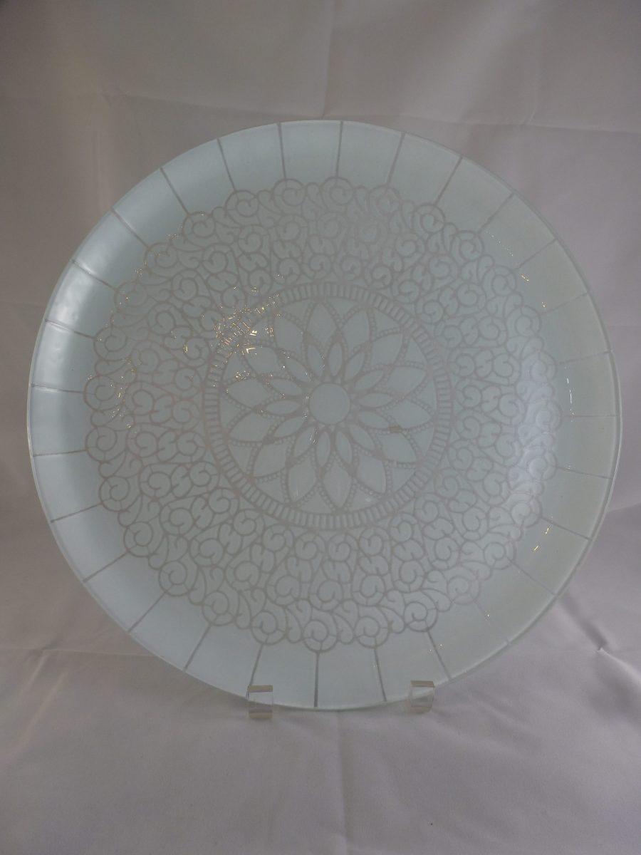 White Embassy Platter
