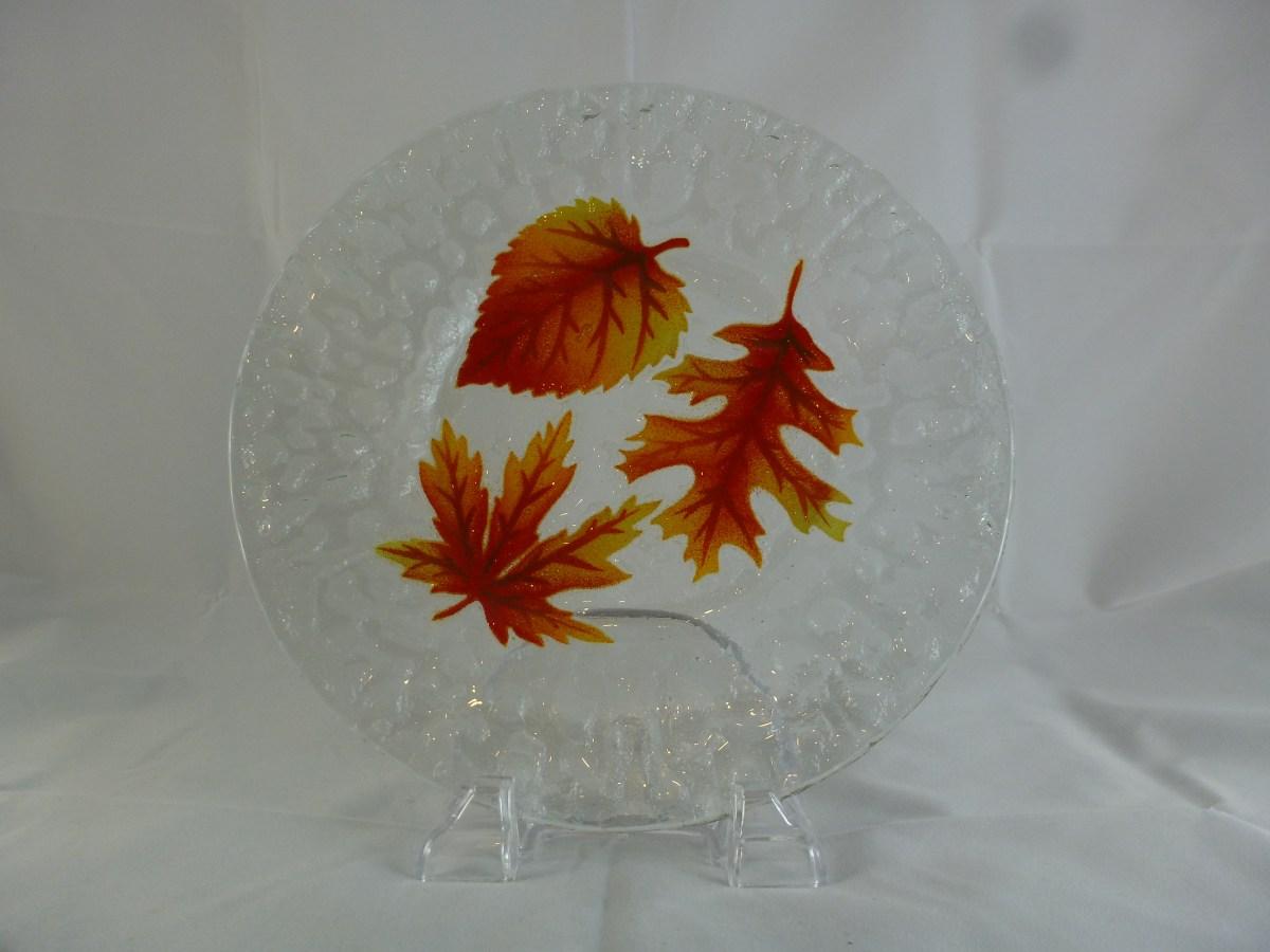 Fall Leaves Dinner Plate