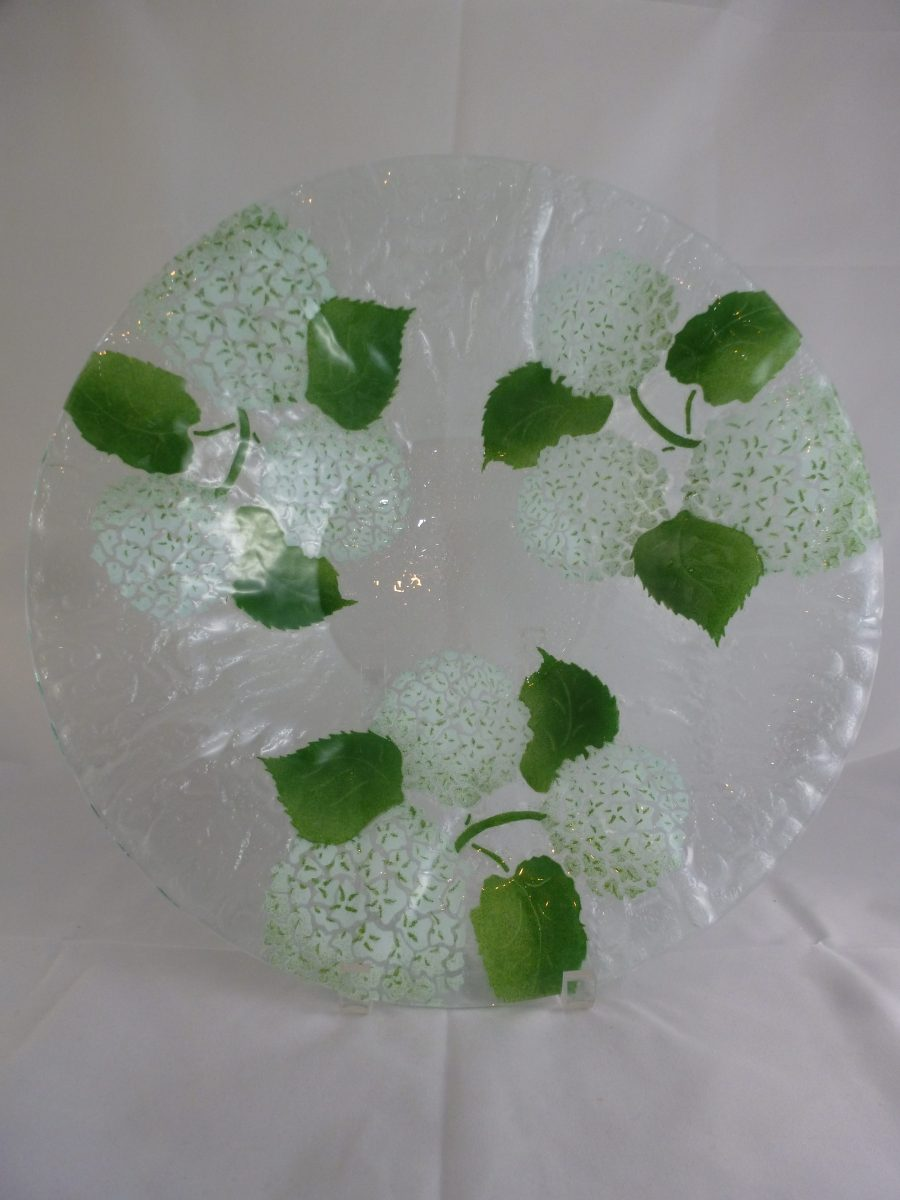 White Hydrangea Large Bowl