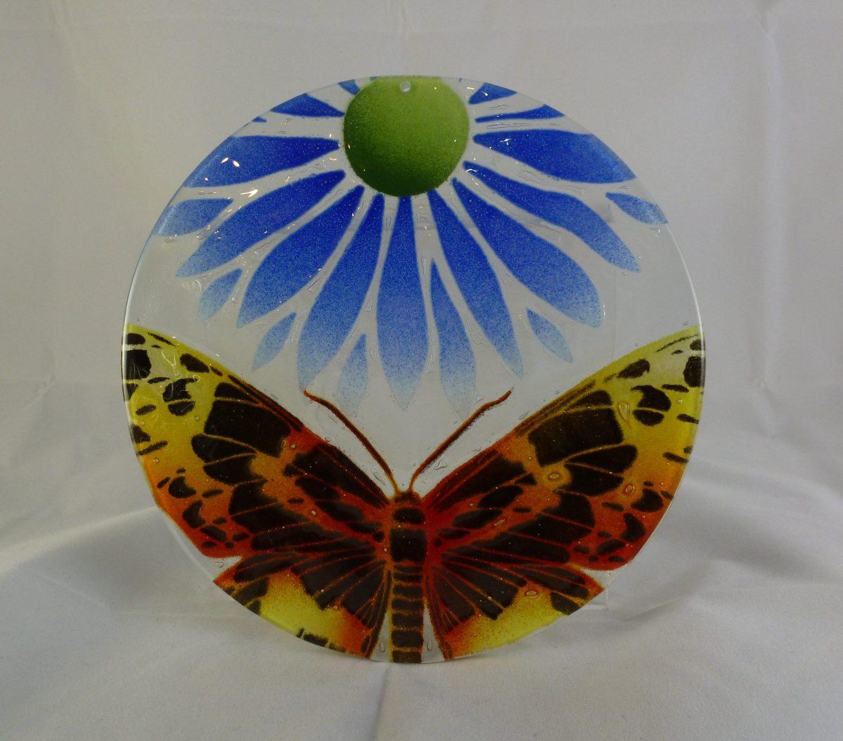 Butterfly and Daisy Suncatcher