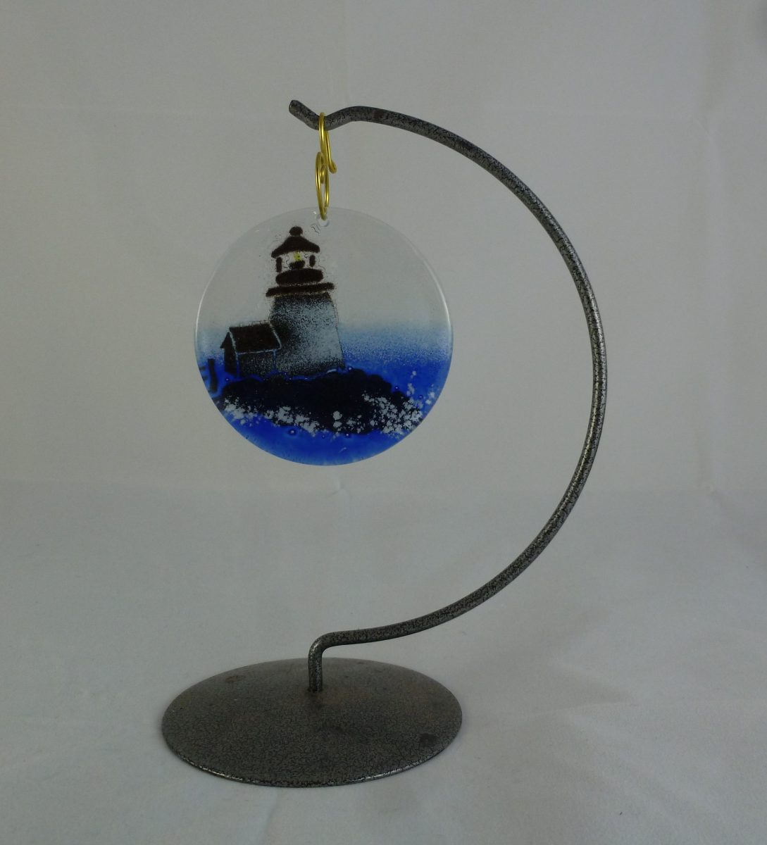 Lighthouse Clear Ornament