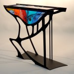 Glass Tables by Sabra Richardson