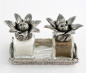 Salt and Pepper Shakers by Silvie Goldmark