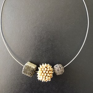 Gold & Silver Bead Neck