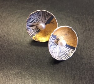 Earrings by so Young Park