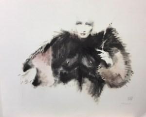 Marlene Dietrich AP - Mixed Media