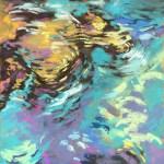 Rock Reflections 14 x 11 Pastel