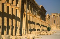 Colonnaded street, Palmyra