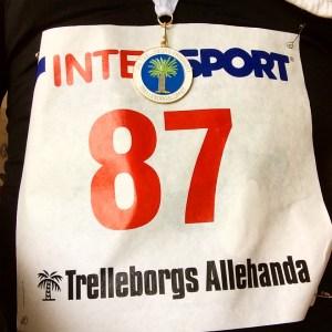 42:42 blev tiden för startnummer 87.