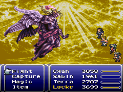 Image result for Final Fantasy III SNES