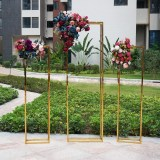 Mirror Gold Floor Stand